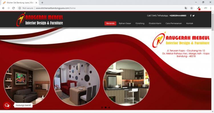 Anugerah Mebeul, Penjualan Furniture dan Kithcen Set di Bandung