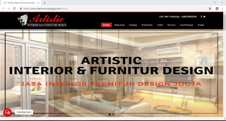 ARTISTIC Interior Murah Jogja , Jasa Interior dan Furniture Design Yogyakarta