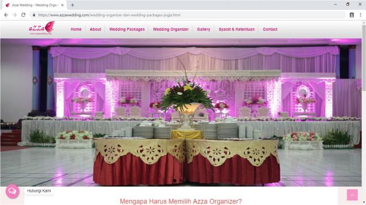Azza Wedding, Wedding Planner Jogja : Wedding Organizer Yogyakarta