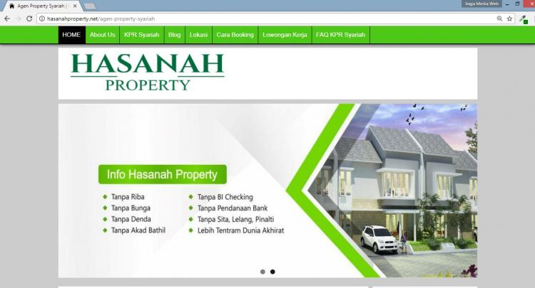 Hasanah Property, Website Agen Property Syariah