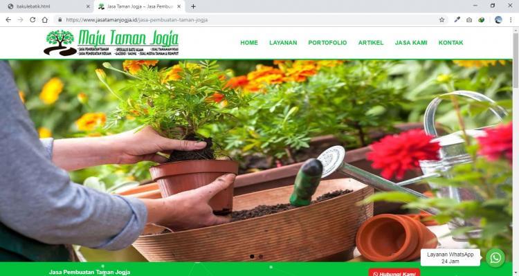 Jasa Taman Jogja, Website Jasa Pembuatan Taman Jogja