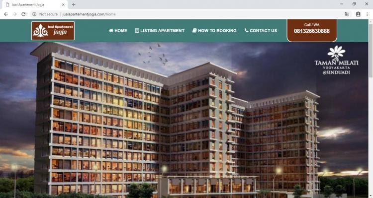 Jual Apartemen Jogja, Website Bisnis Penjualan Properti Apartemen