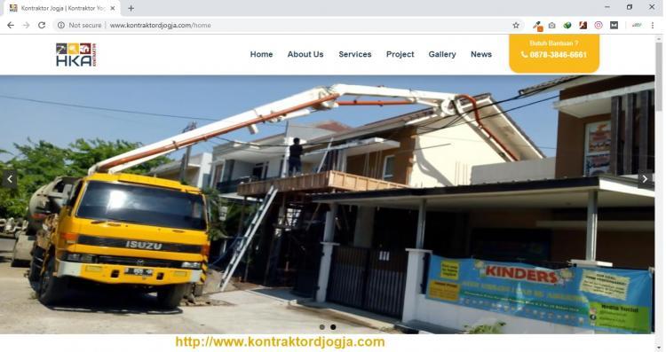 Kontraktor Jogja | PT. Harizqy Kurnia Abadi (HKA), Website Kontraktor | Penyedia Jasa Kontraktor Jogja
