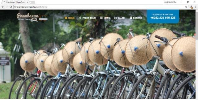 Prambanan Village Tour, Website Wisata Alam Minat Khusus