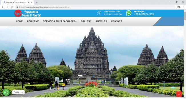 Yogyakarta Travel Tour