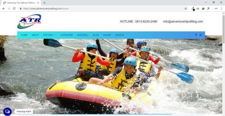 Adventure Trip Rafting, Arung Jeram Magelang | Rafting Magelang