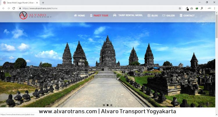 Alvaro Transport Yogyakarta, Sewa Mobil dan Paket Wisata Jogja
