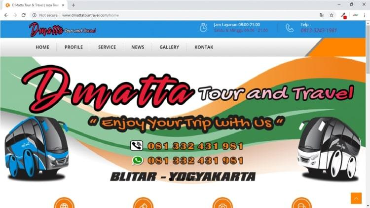 D'Matta Tour and Travel, Tour and Travel Agent Yogyakarta & Blitar