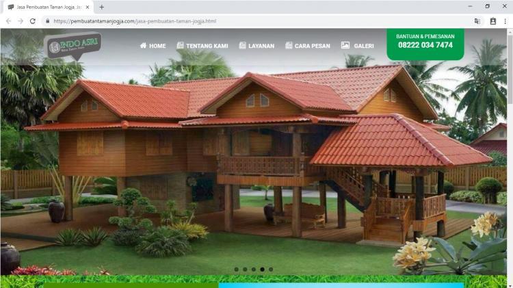Indo Asri, Jasa Pembuatan Taman Jogja
