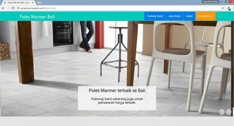 Poles Marmer Bali, Website Jasa Poles Marmer dan Keramik