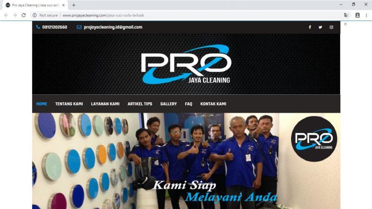 Pro Jaya Cleaning, Jasa Cleaning Sevice dan Jasa Cuci Sofa Bekasi Jawa Barat