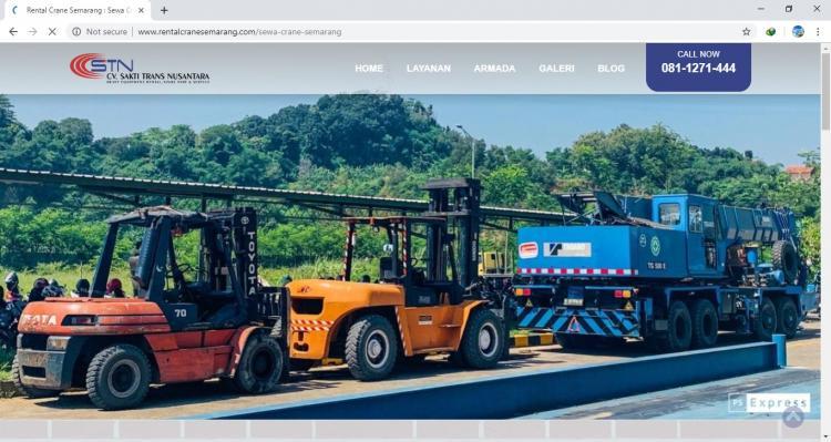 Sewa Crane Semarang - Rental Crane Semarang, Website Penyewaan Crane di Semarang