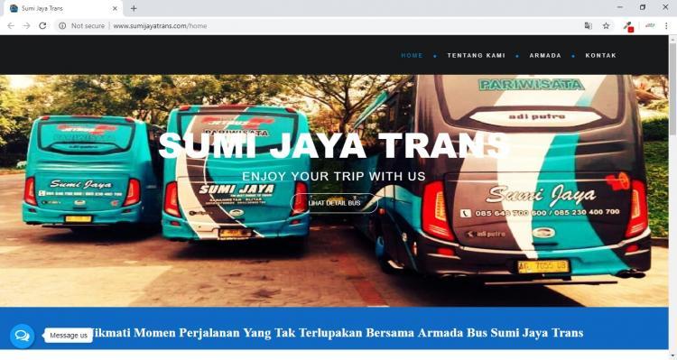 Sumi Jaya Trans, Website Persewaan Bus di Kota Blitar Jawa Timur