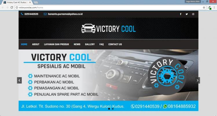 Victory Cool AC Kudus, Website Bengkel AC Kota Kudus