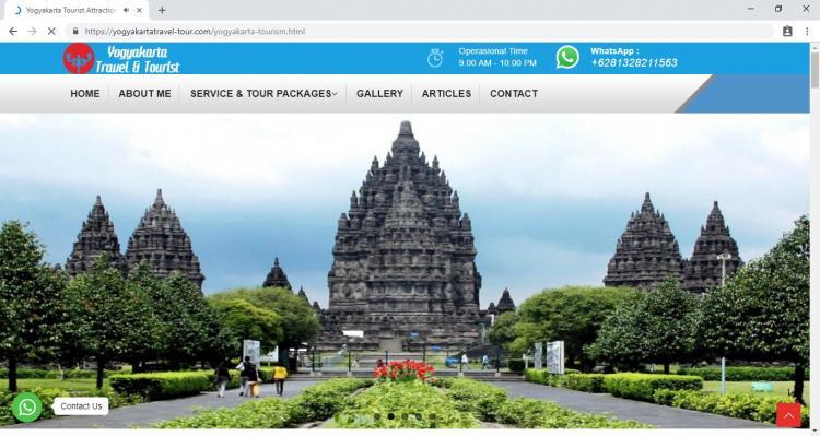 Yogyakarta Travel Tour, Travel Agent in Jogja  : Yogyakarta Travel Tourist